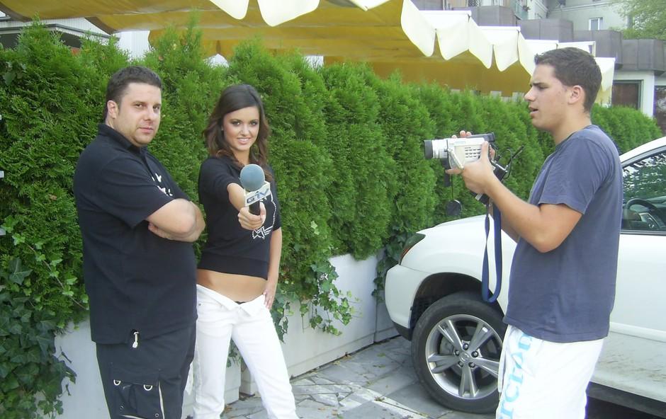 Zajčice na intervjuju za GTV. (foto: DonFelipe)