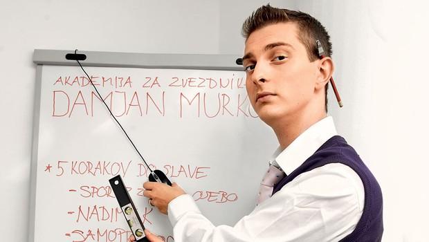 Damjan Murko v Akademiji Murko (foto: Grega Gulin)