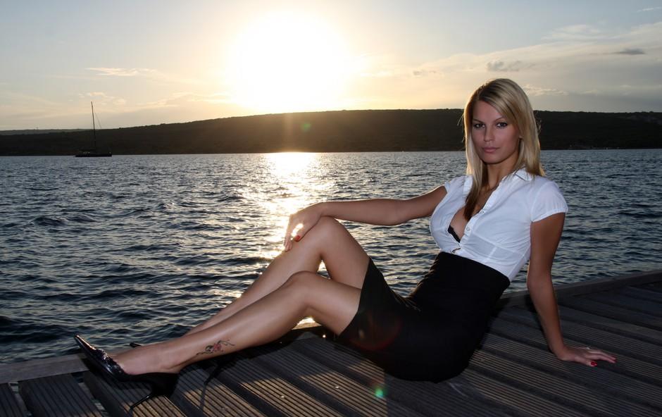 Nermina ob soncnem zahodu (foto: DonFelipe)