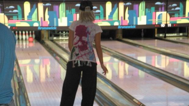 Sanja Grohar na bowlingu 3 (foto: DonFelipe)