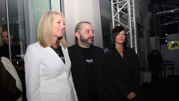Predsednica uprave Peka Marta Gorjup Brejc, Milan Gačanovič in Mateja Glavnik (foto: Jasmina Hasković)