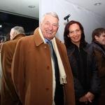 Demeter Bitenc in njegova Majda. (foto: Jasmina Hasković)