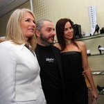 Marta Gorjup Brejc, Milan Gačanovič in Lorella Flego. (foto: Jasmina Hasković)