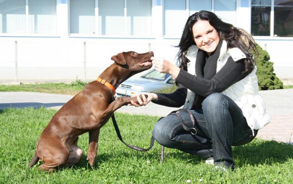 Alenka in Hugo (foto: MM)