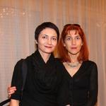 Dramaturginja Petra Pogorevc in direktorica MGL Barbara Hieng Samobor (foto: Jasmina Hasković)