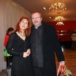 Barbara Hieng Samobor in režiser predstave Sugar - Nekateri so za vroče Stanislav Moša. (foto: Jasmina Hasković)