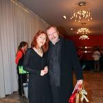 Barbara Hieng Samobor in režiser predstave Sugar - Nekateri so za vroče Stanislav Moša (foto: Jasmina Hasković)
