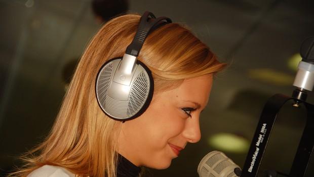 Maja med svojim prvim intervjujem (foto: DonFelipe)