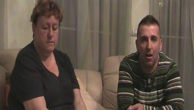 Aleš Čepin in varuška Marjana (foto: Jani Božič)