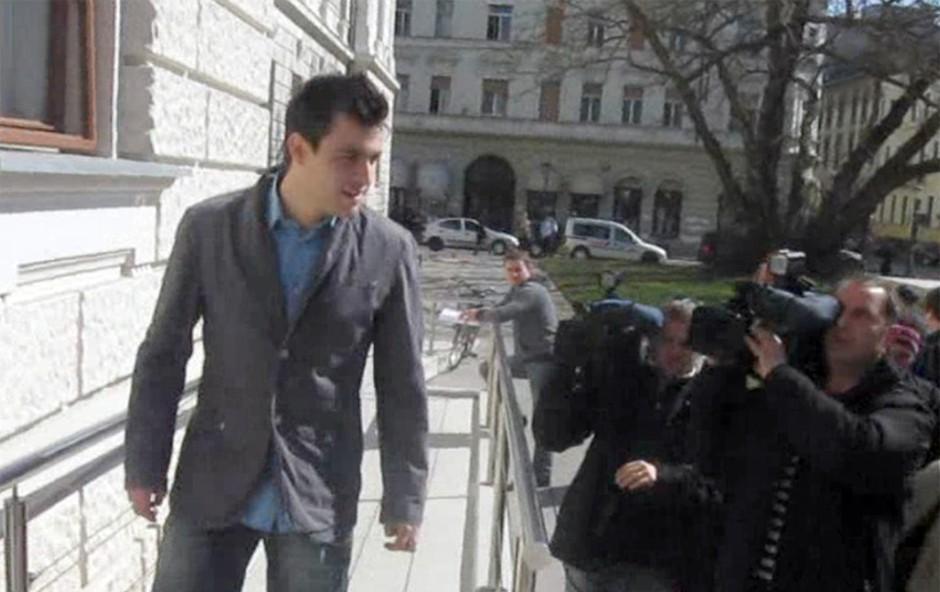 Omar Naber obtožen spolnega nadlegovanja (foto: Jani Božič)