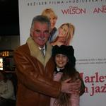 Na premiero je prišla najmlajša radijska voditeljica Lana, družbo pa ji je delal njen dedek. (foto: Jasmina Hasković)