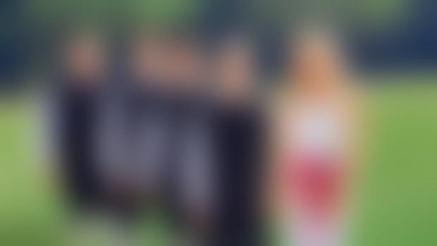 Na ranč Burger Veniše je Natalija z Modrijani posnela videospot valčka Spomni se.