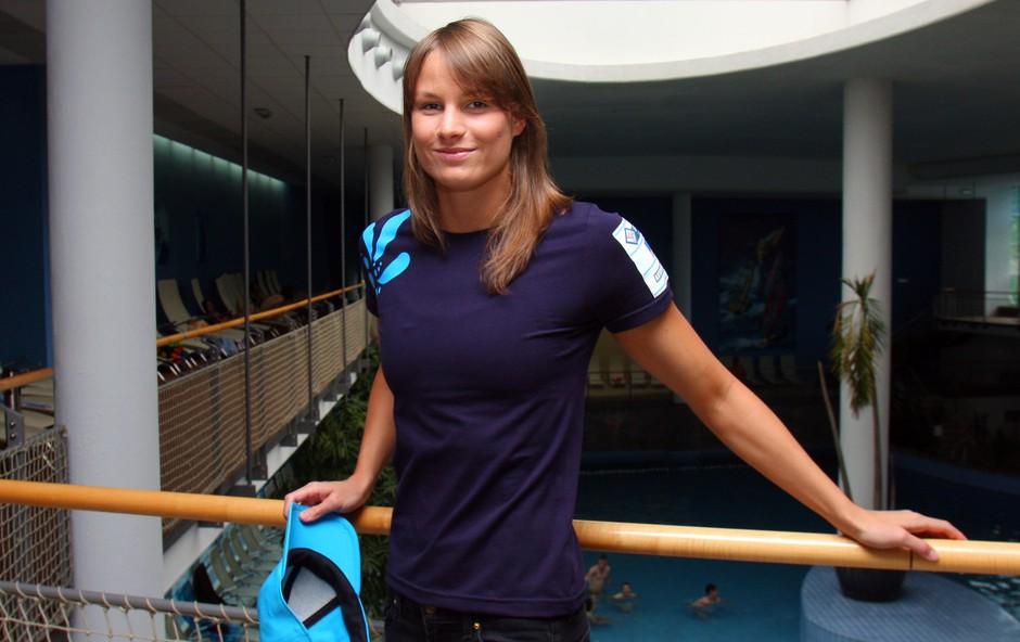 Sara Isakovič v vodnem mestu Atlantis 1 (foto: Jasmina Hasković)