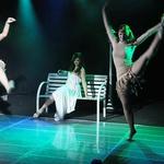 Sanja je na odru nastopila z dvema plesalkama, ki ju je predčasno spustila domov, saj ni bila prepričana v to, da bo zmagala. (foto: Gregor Dinghauser / www.dingo1.net)