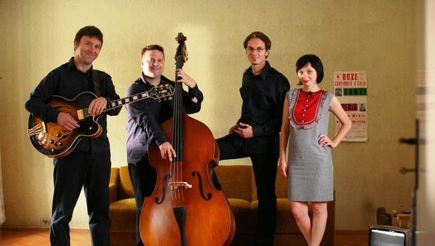 Jazz Station med snemanjem svojega prvega videospota  1 (foto: Janez Draksler)