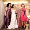 Pri izbiri oblek so jima družbo delale Veronikini sestri Alenka in Majdka ter priča Simona.