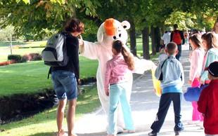 Čarobni dan v Arboretumu Volčji Potok