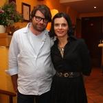 Oddajo Ljubezen skozi želodec bosta vodila Luka Novak in njegova soproga Valentina Smej Novak. (foto: Jasmina Hasković)