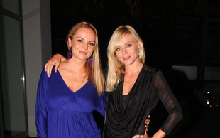 Slika Katarine Čas in Oriane Griotto z začetka kariere: Bili sta lepotici, to pa sta tudi danes!