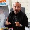 Tiskovna konferenca s Tonyjem Cetinskim pred nastopom v Križankah. 4