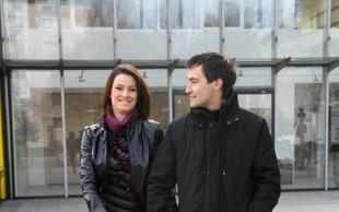 Ekskluzivno: Aneta in Goran pred kamero