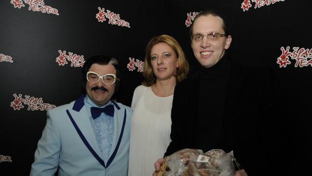 Zmago Batina (Bojan Emeršič), Urška Alič Flajnik in Marko Naberšnik (foto: Sašo Radej)
