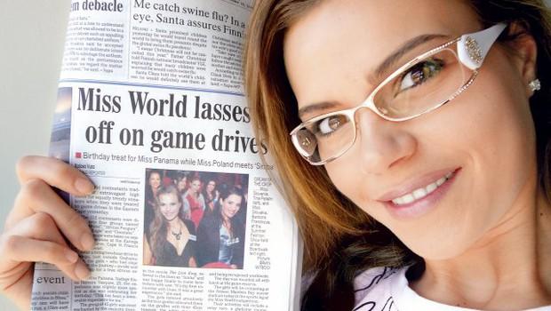Tina v tujih medijih ni ostala neopažena. (foto: Osebni arhiv)