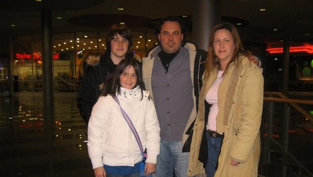 Jernej Kuntner je premiero obiskal z družino. (foto: DonFelipe)