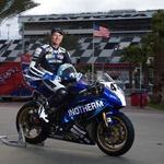 Daytono Skubic odlično pozna, saj je na tamkajšnjem dirkališču vozil že več kot desetkrat. (foto: Bor Dobrin za Intoherm Yamaha team)