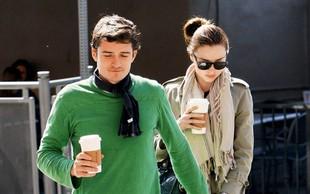 Orlando Bloom: Na kavi z Mirando Kerr