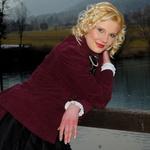 Anita si je vzela nekaj časa tudi za poziranje ob jezeru v Preddvoru. (foto: DonFelipe)