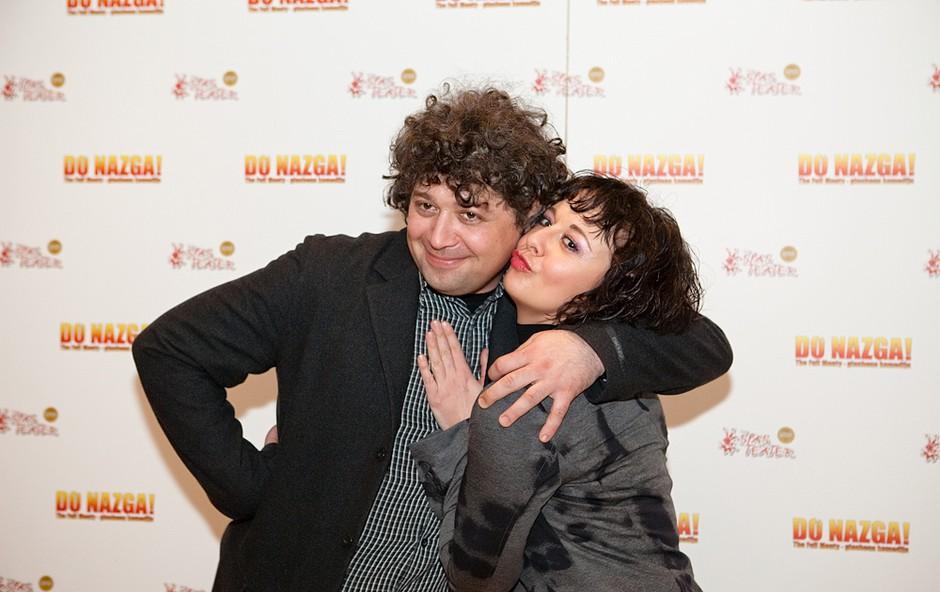 Lara Jankovič in Brane Vižintin (foto: Marko Ocepek)