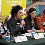 Vsi prisotni so izpostavili pomen glasbenega udejstovanje pri mladih. (foto: Mediaspeed)