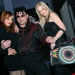 Taya in Sabina sta pozirali tudi ob primorskemu menadžerju Marku Ipavcu. (foto: Vesmin Kajtazovič)