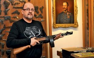 """Zmago Jelinčič Plemeniti: """"Imeti orožje je dobra stvar!"""""""