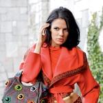 Sabina Remar v modnih znamkah Missioni in Baccialini (foto: Grega Gulin)