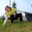 Zemljska misica pomagala čistiti Slovenijo