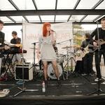Nastop v živo s spremljevalno skupino je bil za vse obiskovalce prava glasbena poslastica. (foto: Sašo Radej)
