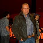 Playboyev art direktor Gojko Zrimšek se je z zanimanjem udeležil premiere filma. (foto: DonFelipe)