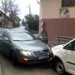 Prometno nesrečo je Maretu povzročil nasproti vozeči voznik. (foto: DonFelipe)
