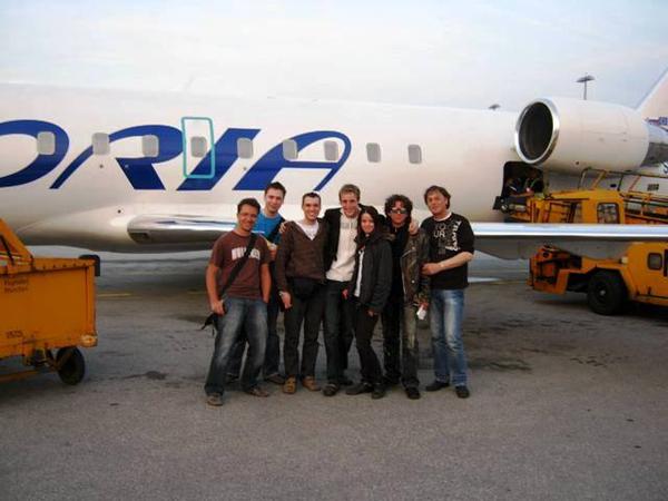 Ekipa naših nastopajočih je odšla v Amsterdam pod vodstvom Andreja Hoferja.
