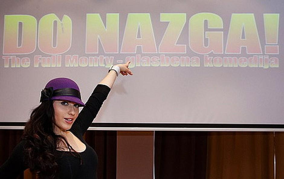 V prestavi boste lahko občudovali tudi nadarjeno igralko Majo Martino Merljak. (foto: Marko Ocepek)
