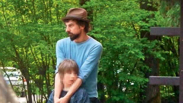 Jan Cvitkovič s sinom (foto: Dober Nino)