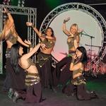 Plesalke NC Dance so odprle finalni večer. (foto: Gregar Gulin in DonFelipe)