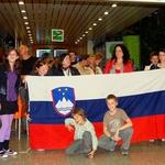 Domači in prijatelji so težko pričakovali vrnitev naših predstavnikov. (foto: DonFelipe)
