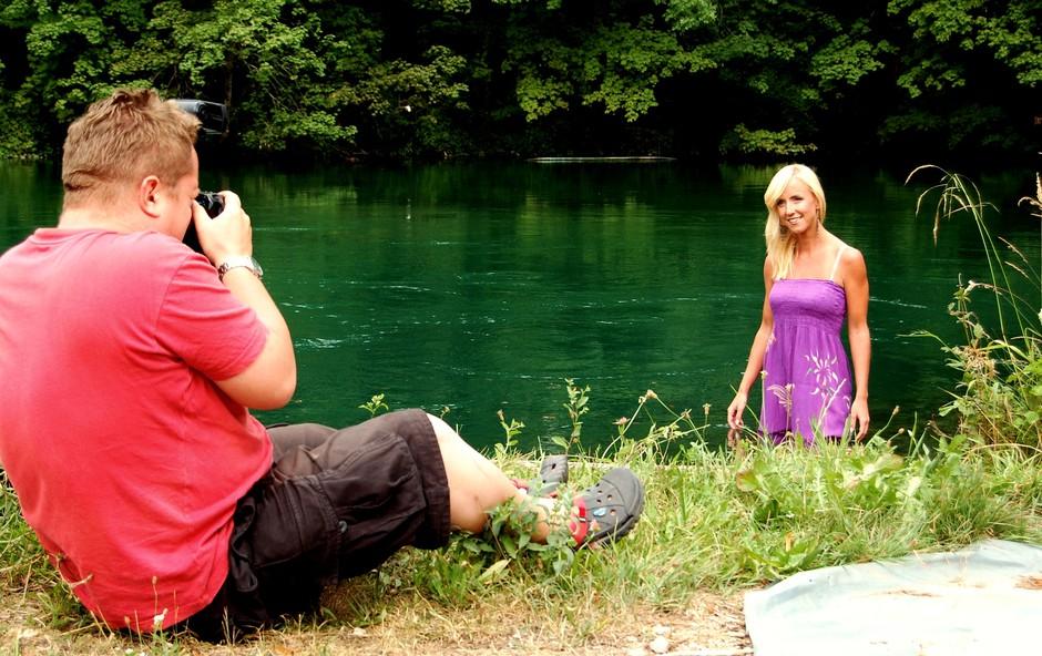 Zakulisje fotografiranja Ote Roš za revijo Story (foto: DonFelipe)