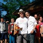 Pri spotu za festival Panonika Harmonika je sodeloval tudi Primož Kozmus (foto: Vesmin Kajtazovič)