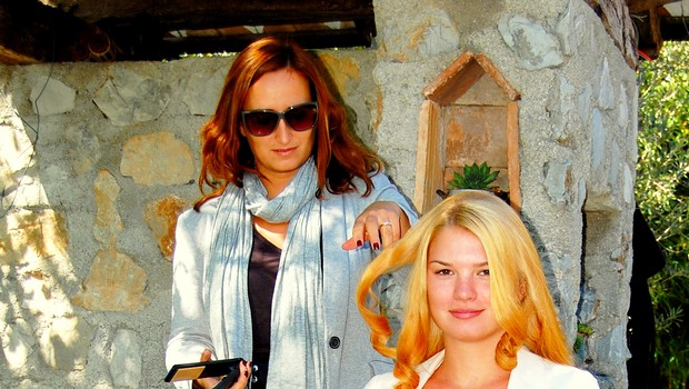 Daša Podržaj je uživala na modnem fotografiranju za revijo Story (foto: DonFelipe)