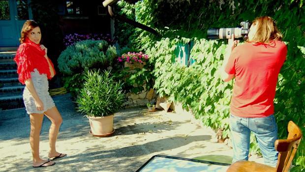 Zakulisje modne fotografiranja s Katjo Matko (foto: DonFelipe)