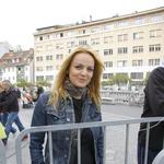 Tek sta si ogledala tudi Oriana Girotto... (foto: Grega Gulin)